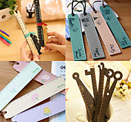 Creative Wooden Ruler(Assorted Design)