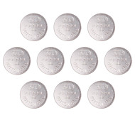 SSUO  AG12/LR43/386A 1.55V Alkaline Cell Button Batteries (10 PCS)