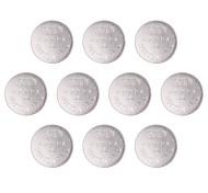 batterie a bottone cellula alcalina 1.55V ssuo AG12 / LR43 / 386a (10 pz)