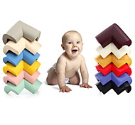 L Shape Thicken Baby Safety Corner Protector Edge Cushion 60*60*12mm(Random Color)