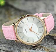 estilo europeu de moda simples relógios de venda quente das senhoras