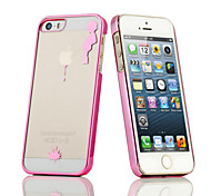 New Special Design Kid Pee Pattern Plating PC Material Cell Phone Case for iPhone 6/6S (Assorted Colors)