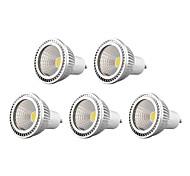 5 pcs Bestlighting GU10 5 W 1 X COB 450 LM K Warm White/Cool White Dimmable Spot Lights AC 220-240/AC 110-130 V