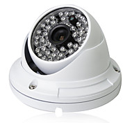 Cctv 1200tvl 960H Hd Sony Cmos 48pcs Leds Ir-cut 3.6mm Wide Angle Metal Armour Dome Security Camera