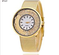 Women's Fashion Steel Band Quartz Anolog Wrist Watch(Assorted Colors)