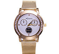 Ladies' Fashion Watch When The New Network With High-Grade Gold Diamond Three Magic Fashion Watches(Assorted Colors)