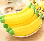 Lovely Silicone Banana Small Purse