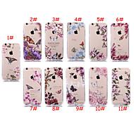 Retro Schmetterlingsblumenkästen für iphone6 / iphone 6s (verschiedene Farben)