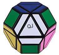 QJ Asymmetric Polyhedral Magic Cube (Black Edge)