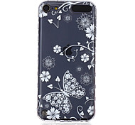 LOGROTATE®Anti-skidding Design Butterfly Pattern TPU Soft Case for iPod Touch 5/6 (Assorted Colors)