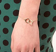 Gold Silver Handcuffs Bracelet(Random Color)