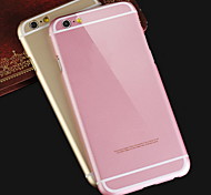 iPhone 6 - Cover-Rückseite - Spezielles Design (Schwarz/Rosa/Gold/Silber , Metall)