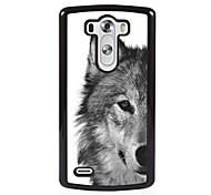 Para Funda LG Diseños Funda Cubierta Trasera Funda Animal Dura Policarbonato LG LG G4 / LG G3