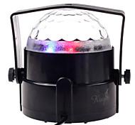 stade de la pub prop Lampe de boule de cristal mini-lampe de phase de contrôle de la voix de la scène colorée