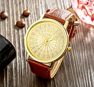 SOXY® Hot Sale High Quality Iceland Men Brown Belt PU Charm Watch for Men Fine Jewelry Gift