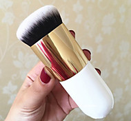 New Flat Professional Cosmetic Kabuki Foundation Makeup Face Blush Powder Brush