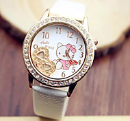 Ladies' Watch Geneva National Wind Series Leather Watch Fashion Watch