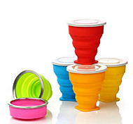 """Travel Bottle & Cup / Travel Toothbrush Container/ProtectorForTravel Drink & Eat Ware Rubber 3.5""""*3.1""""*1.8""""(9cm*8cm*4.5cm)"""