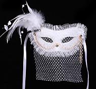 #Carnival Acc# Mysterious Veil Bohemien Mask Belly Dance Mask