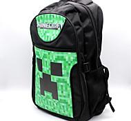 Minecraft  Pocket Edition Online Game Logo Backpack Cosplay Backpack/Bag