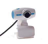 Computer Camera Mini Base 8.0 Webcam Blue