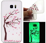 Voor Samsung Galaxy Note Glow in the dark hoesje Achterkantje hoesje Boom TPU Samsung Note 5