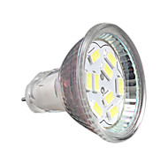 3W GU4(MR11) Faretti LED MR11 9 SMD 5730 250 lm Luce fredda Decorativo DC 12 V