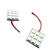 Hot Selling T10, BA9S, Festoon Car Led License Plate light, Car LED Bulbs T10 5050 9SMD Bright Lightness LED La