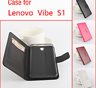Flip Leather Magnetic Protective Case For Lenovo Vibe S1(Assorted Colors)