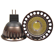 5W GU5.3(MR16) Focos LED R63 1 COB 400 lm Blanco Cálido / Blanco Fresco Decorativa AC 12 / AC 110-130 / DC 12 V 1 pieza
