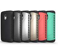 Fake Metal Fall Protection Combination TPU+PC Case for Motorola X play(Assorted Color)