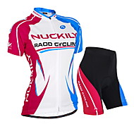 NUCKILY Bike/Cycling Jersey + Shorts / Clothing Sets/Suits Women's / Unisex Short SleeveWaterproof / Breathable / Ultraviolet Resistant /