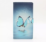 Good Quality PU Leather Flip Case Mobile Phone for Sony Xperia Z5