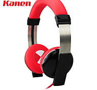 Kanen-ip-2000 3.5mm Stylish Stereo On-Ear Headphone For iPhone/Samsung