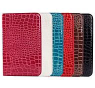 diseño del grano del cocodrilo pu funda de cuero para Samsung Galaxy Tab 10.5 s pestaña t800 s 8,4 t700 (color clasificado)