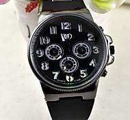 Simple style  case  leather watch mans  quartz wrist watch Cool Watch Unique Watch