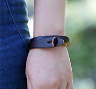 Unisex Leather Handcrafted Vintage Bracelet(More Colors)
