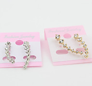 New Arrival Fashional Rhinestone Star Earrinngs