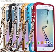 Mechanical Arm Metal Bumper Frame Case Tactical Edition For Samsung Galaxy S6