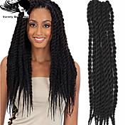 couleurs noir nouveau produit élégante queue de cheval postiche exportation vers africain
