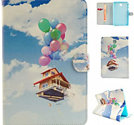 Balloon House Case for Tab A9.7/A8.0/S2 9.7/S2 8.0/E9.6/TAB 3Lite/TAB 4 7.0/TAB 4 10.1/TAB S10.5/TAB S8.4