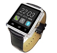 A8-2 This Is A Metal Case Leather Strap Smart Watches, Support Android Apple System, Bluetooth 4.0 Support Smart Watches