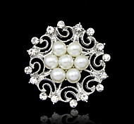 Z&X® Fashion Pearl Popular Brooches Wedding / R Party / Daily 1pc