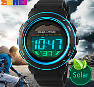 SKMEI® Men's Solar Battery LCD Digital Sport Watch Fashion Sporty Stopwatch Cool Watch Unique Watch