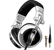ST-80 Professional Monitor Music Headset Hifi Subwoofer Enhanced Super Bass Noise-Lsolating DJ Headphone