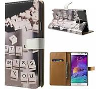 gute Qualität PU-Leder-Schlag-Fall Handy-Köchertasche für Samsung Galaxy Note 3/4 note / note 5