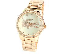The Crocodile Female Fashion Watches Diamond Shell Dial Luxury Fashion Female Watch Series Fashion Style