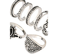 The European And American Hipster Set Of Rings Creative Joint Restoring Ancient Ways Ring