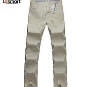 Lesmart Men's Straight Pants Beige - MDMK1206