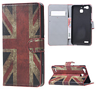 Vintage UK Flag Magnetic PU Leather wallet Flip Stand Case cover for Huawei Ascend P9